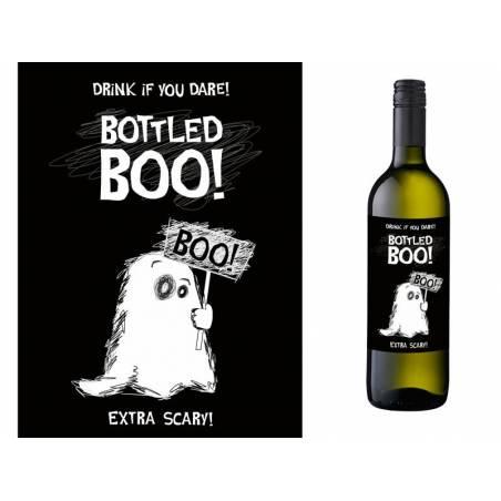 Etiquettes de bouteilles d'alcool Boo
