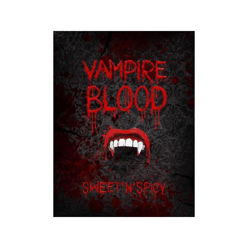 Etiquettes de bouteille pour alcool Vampire Blood