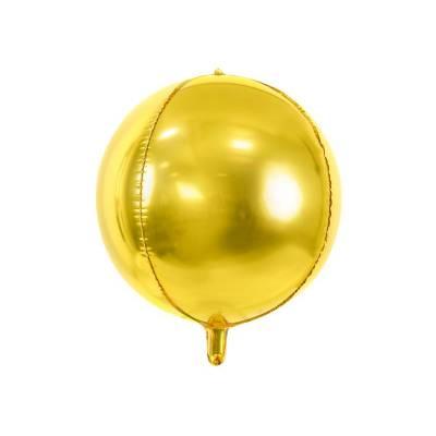 Ballon en aluminium 40cm doré