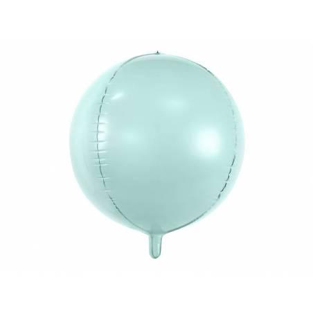 Ballon de papier d'aluminium 40cm menthe