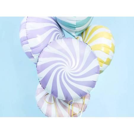 Bonbons Foil Ballons 45cm lilas clair
