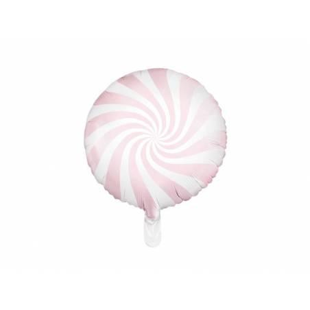 Bonbons Foil Ballons 45cm rose pâle