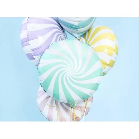 Bonbons en papier d'aluminium 45cm menthe