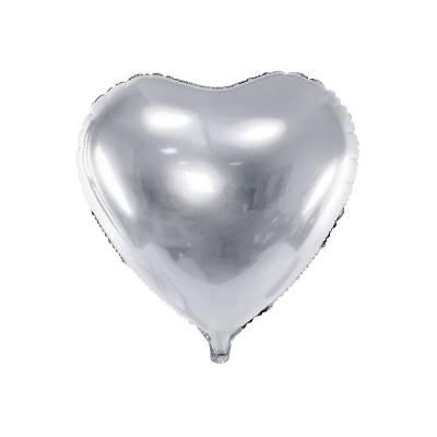 Foil Ballons Heart 61cm argent