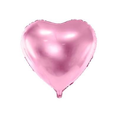 Foil Ballons Heart 61cm rose pâle