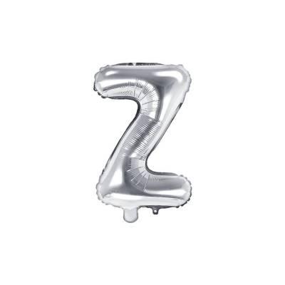 Foil Ballons Lettre Z 35cm argent