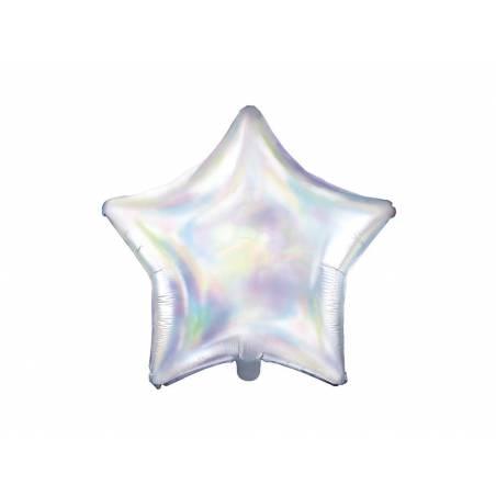 Foil Ballons Star 48cm irisé