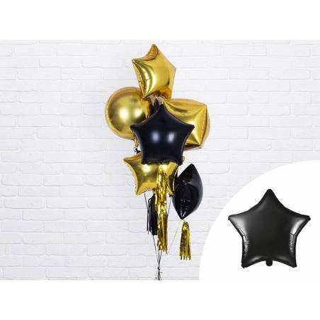 Foil Ballons Star 48cm noir