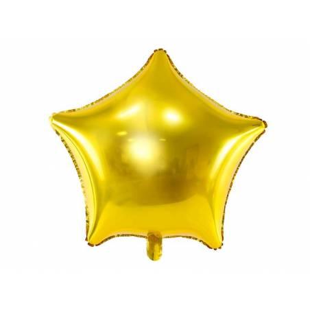 Étoile ballon ballon 48cm or