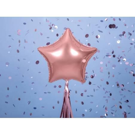 Star Ballons Foil 48cm or rose