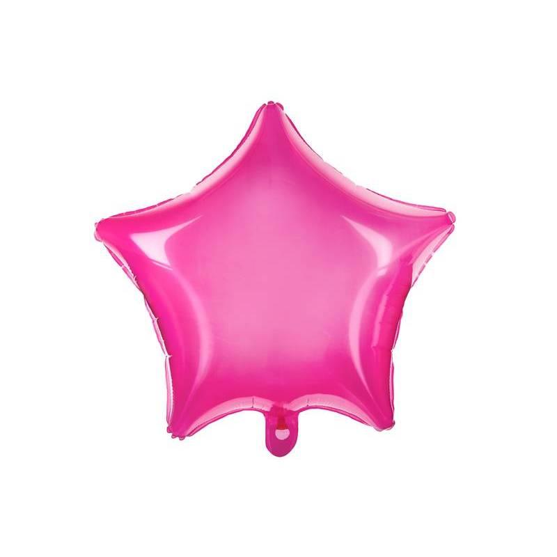 Foil Ballons Star 48cm rose