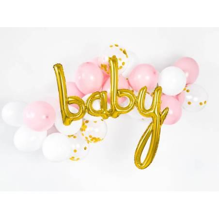 Ballon d'aluminium Baby or 735x755cm