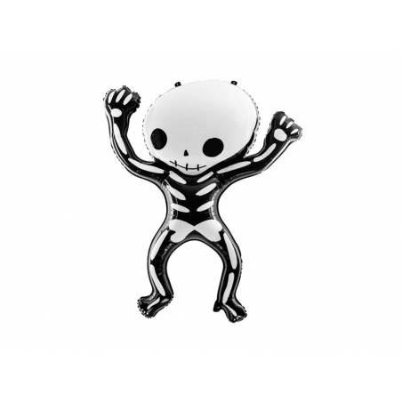 Ballon en aluminium squelette 84x10cm
