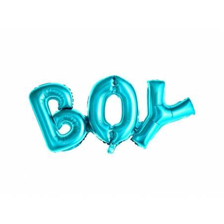 Foil Ballons Boy 67x29cm bleu