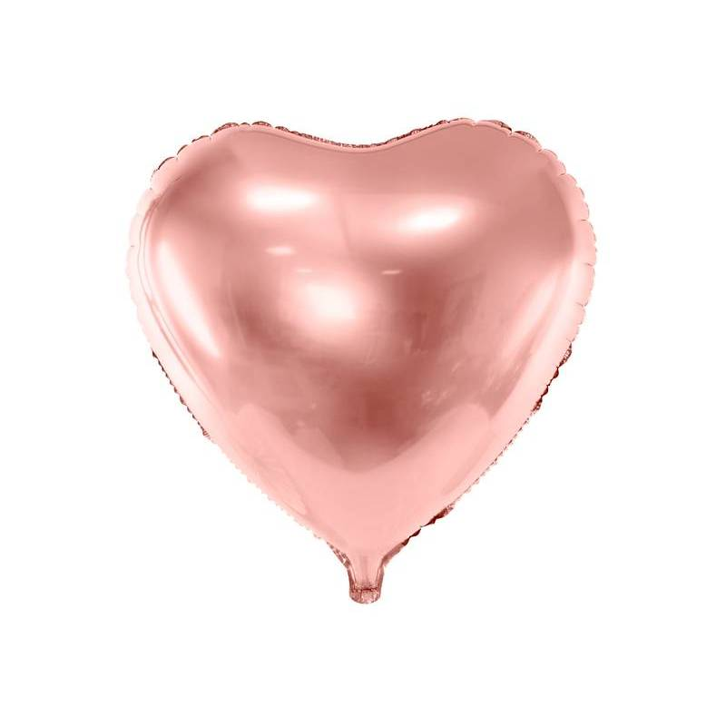 Foil Ballons Heart 45cm or rose