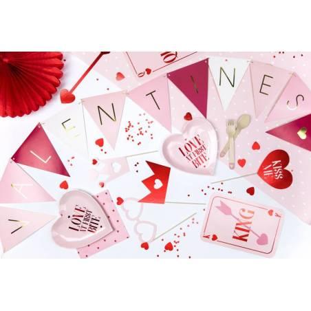 Bunting Valentines mélange 21 m