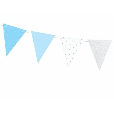 Guirlande 1er anniversaire - Drapeaux 1.3m