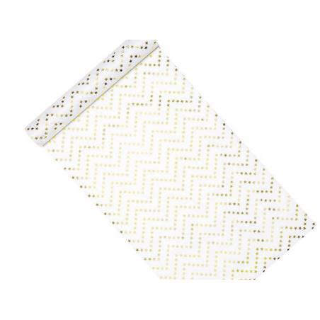 Entoilage décoratif - Étoiles or 0.36x9m