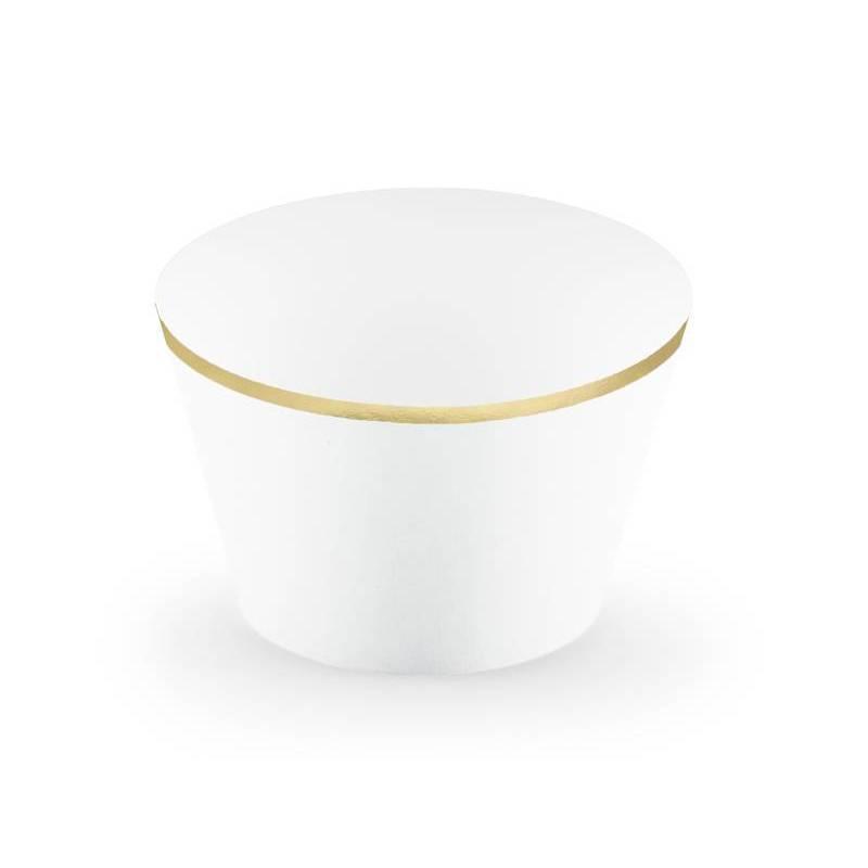 Emballages de petits gâteaux 48x76x46cm blancs