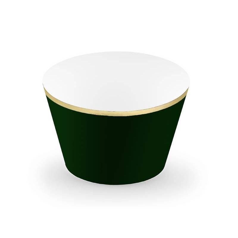 Emballages de petits gâteaux 48x76x46cm vert bouteille
