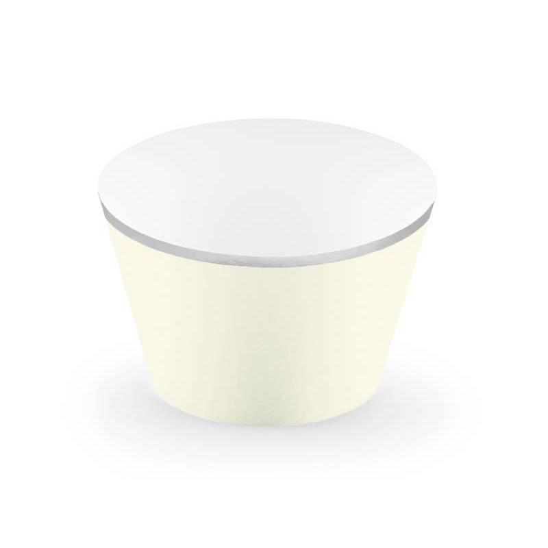Emballages pour petits gâteaux 48x76x46cm beige clair