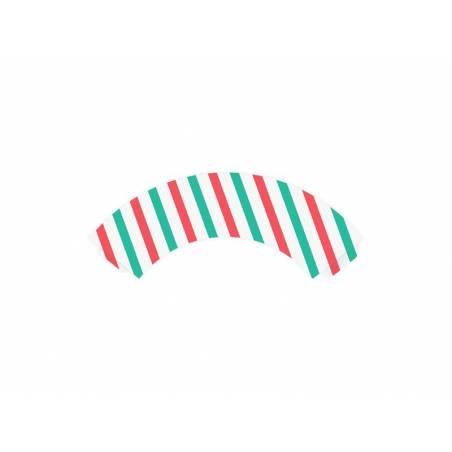 Petits emballages de petits gâteaux Joyeux Noël 48 x 76 x 46 cm