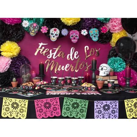 Traiter les cas Dia de Los Muertos 8x15x4cm