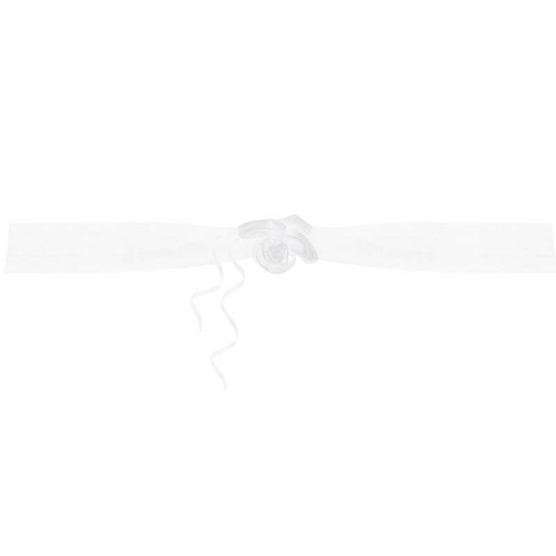 Guirlandes en organza blanches 18 m