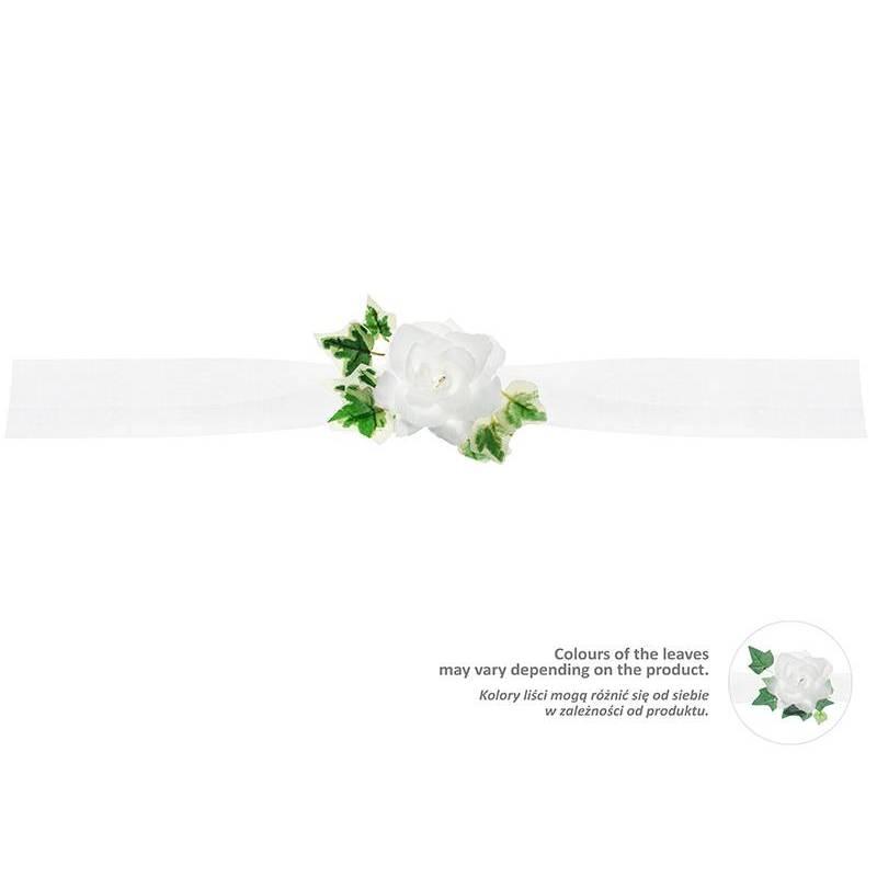 Guirlande de tulle blanche 17 m