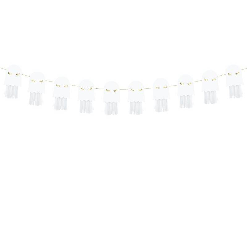 Guirlande de papier - Ghosts 1.3m