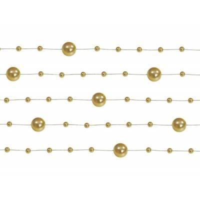 Guirlandes de perles or 13 m