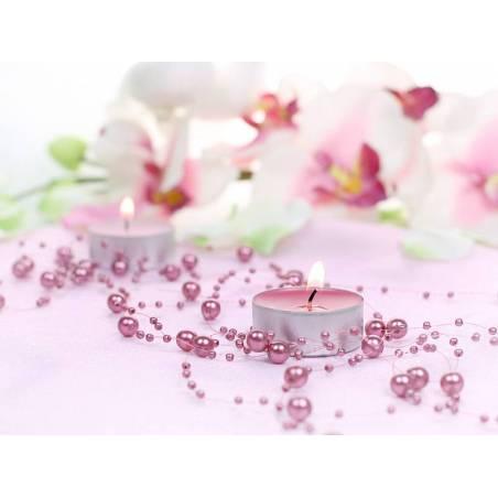 Guirlandes de perles rose sale 13 m