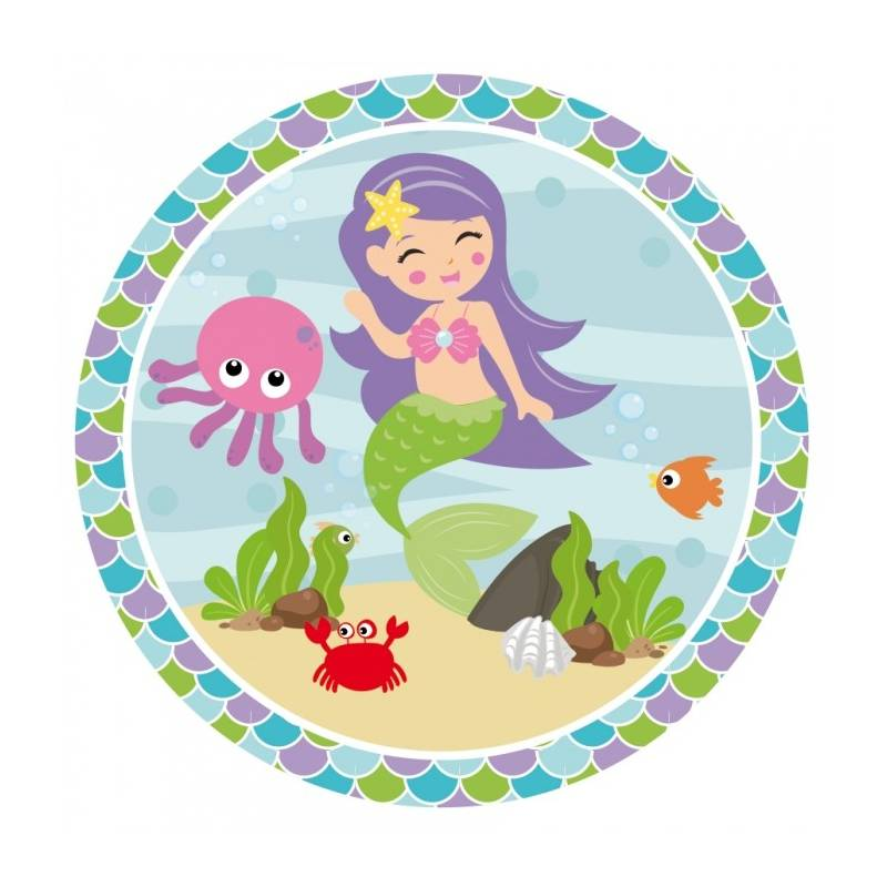 20 Maxis Stickers Sirène
