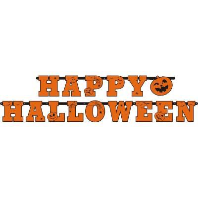 Bannière Happy Halloween 13 x 210cm
