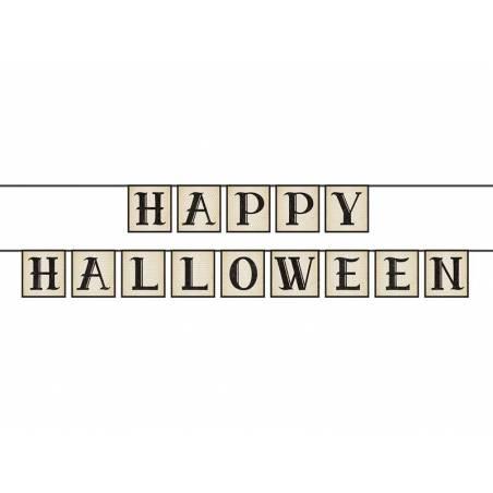 Bannière Happy Halloween 14 x 210cm