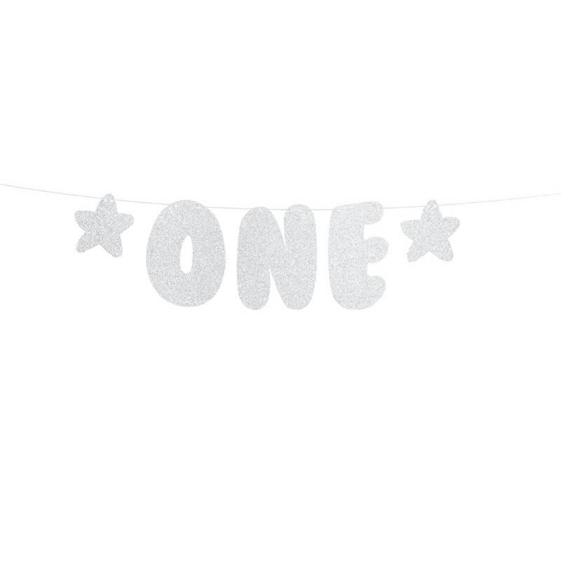 Bannière 1er anniversaire - Un 115x50cm