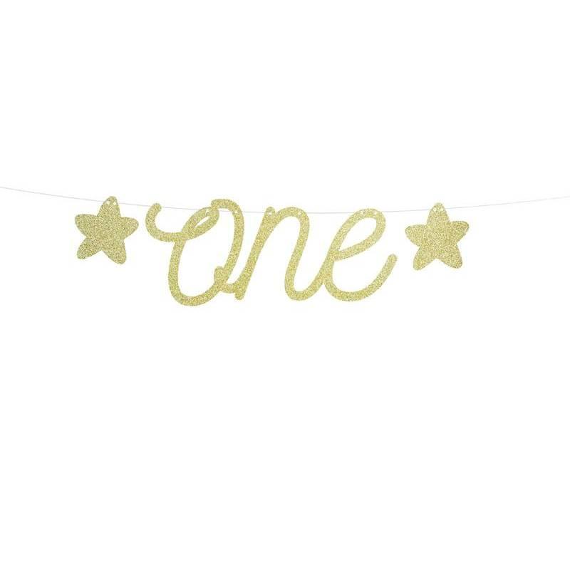 Bannière 1er anniversaire - One 12x50cm