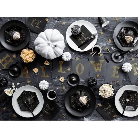 Bannière Halloween noir 20x175 cm