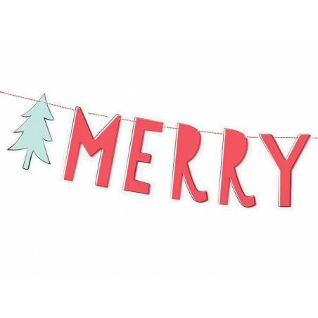 Bannière Joyeux Noël 12x120cm