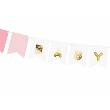 Bannière Baby Girl mélange 15 x 175 cm