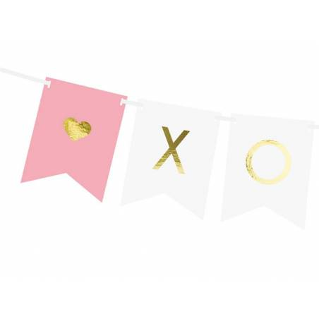 Bannière Xo Xo mélanger 15 x 95 cm