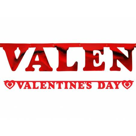Bannière Saint Valentin 15 x 200cm