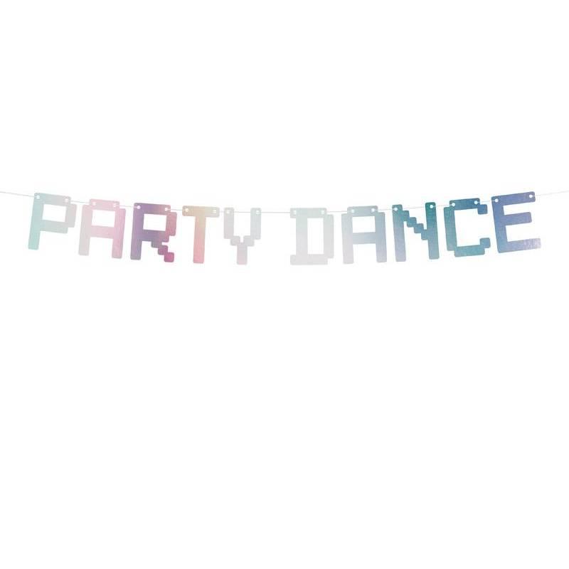 Banner Electric Holo - Party Dance irisé 9.5x130cm