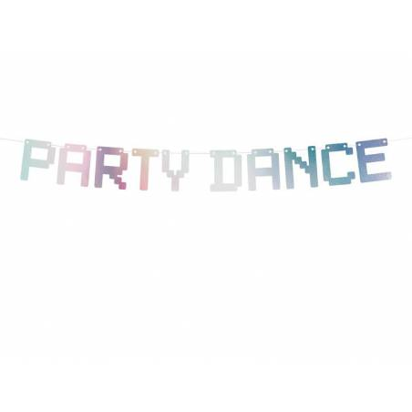 Banner Electric Holo - Party Dance irisé 9.5x130cm