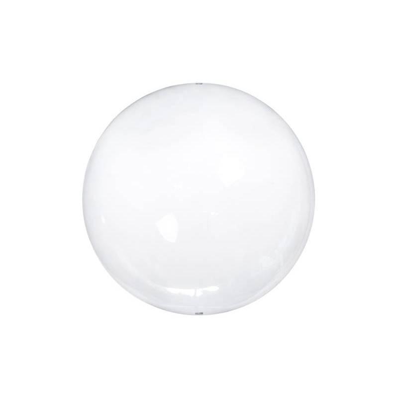 Boules en verre avec fentes incolores 12cm