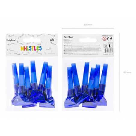 Sifflets bleus