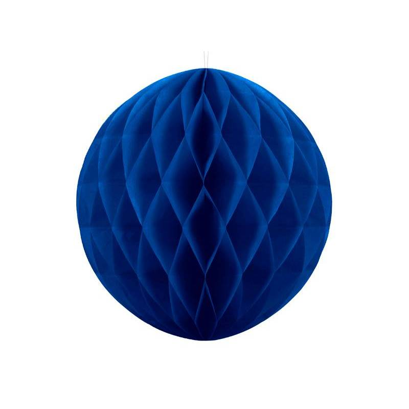 Balle en nid d'abeille bleu marine 30cm