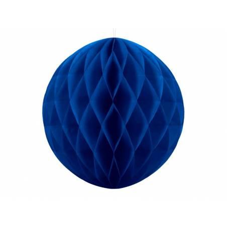 Balle en nid d'abeille bleu marine 40cm