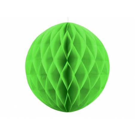 Balle en nid d'abeille vert pomme 40cm