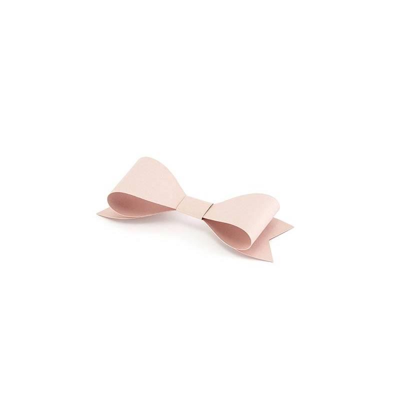 Décorations en papier Noeuds rose poudré